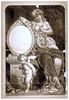 [woman, Seated With Lyre, Thespian S Mask, And Cupid] Image