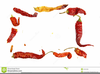 Chili Peppers Frame Clipart Image