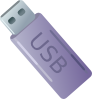 Usb Thumbdrive Flash Memory Storage Clip Art