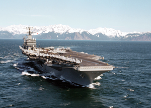 Uss Lincoln - Gulf Of Alaska Image