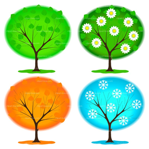 Free Vector Clipart Of Trees Image