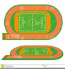 Sports Field Clipart Image