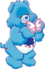 Good Luck Bears Clipart Image