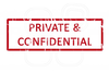 Confidential Stamp Clipart Free Image
