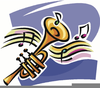 Free Big Band Musical Instrument Clipart Image