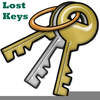 Old Key Clipart Image