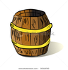 Stock Vector Vector Illustration Of Barrel Image