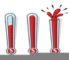 Fund Raiser Thermometer Clipart Image