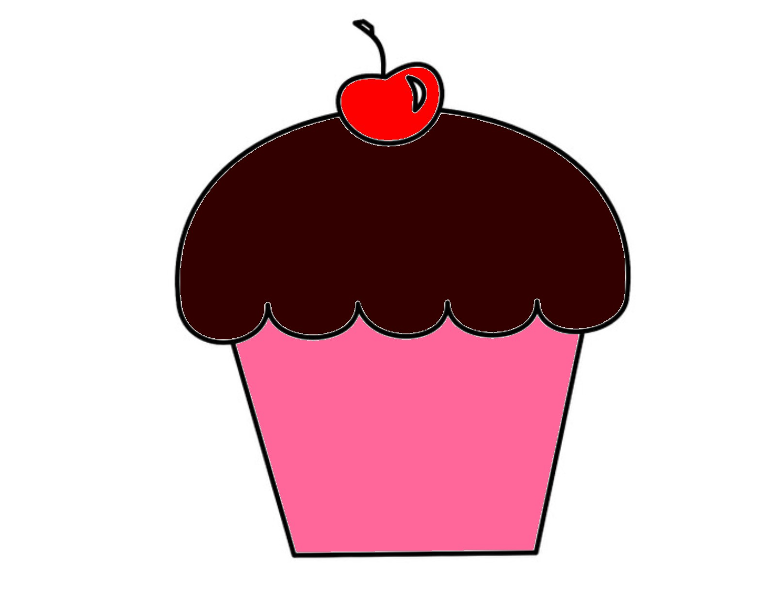 Cupcake | Free Images at Clker.com - vector clip art ...