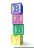 Baby Block Clipart Image