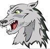 Cartoon Wolf Clipart Image