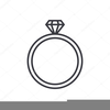Engagement Clipart Black And White Image