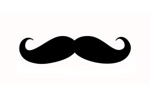 hair free images at clker com vector clip art online royalty rh clker com free moustache clipart handlebar mustache clip art free