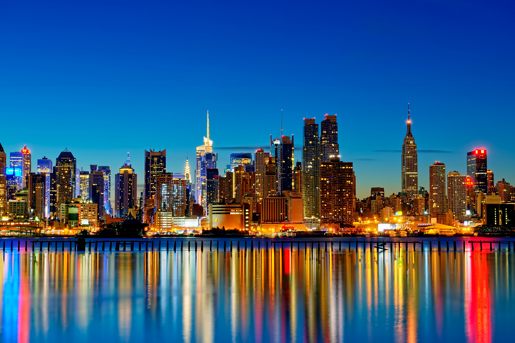new york city lights  free images at clker  vector