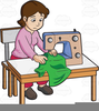 Embroidery Art Factory Clipart Image