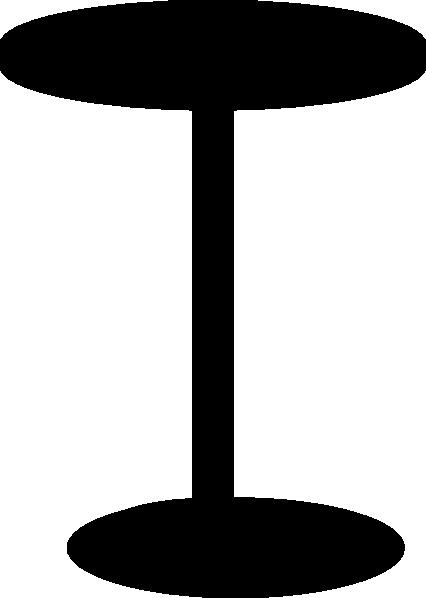 Black Stool Clip Art At Clker Com Vector Clip Art Online