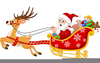 Christmas Clipart Sleigh Ride Image