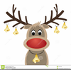 Rudolph The Red Nosed Reindeer Clipart Image