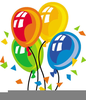 Th Birthday Party Clipart Image