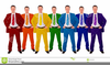 Men In Suits Clipart Image