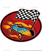 Clipart Racing Checkered Flag Image