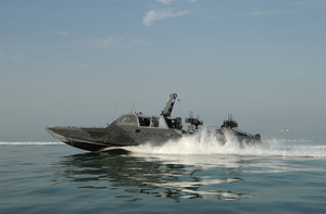 Naval Special Warfare Combatant-craft Crewmen Operate A Mark V Special Operations Craft Image