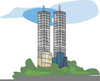 World Trade Center Clipart Image
