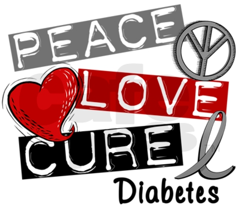 peace love cure diabetes free images at clkercom