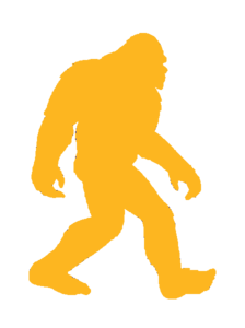 Big Foot Yellow Cut Image