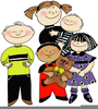 Preschool Children Clipart Image