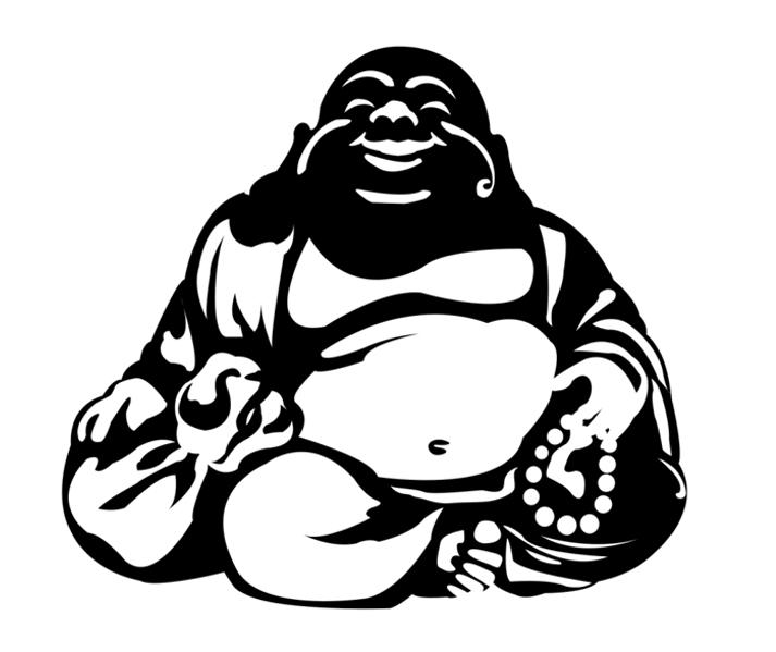 Smiling Buddha image