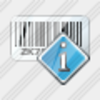 Icon Bar Code Info Image
