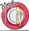 Formal Dinner Clipart Image
