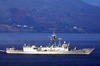 Uss Kauffman Arrives In Crete Image