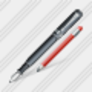 Icon Feather Pen Edit Image