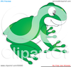 Green Tree Frog Clipart Image