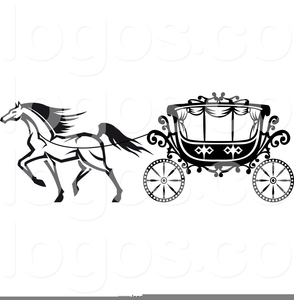 Horse Carriage Clipart Image