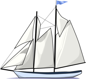 Moj Sailboat Clip Art