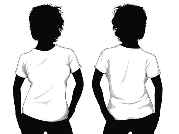 Tshirt Template | Free Images at Clker.com - vector clip art online ...
