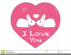 A Love Monkey Clipart Image