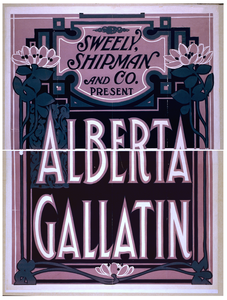 Sweely Shipman And Co. Present Alberta Gallatin Image