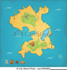 Free Clipart Pirate Map Image