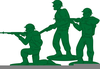 Free Army Man Clipart Image