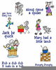 Free Clipart Mother Goose Nursery Rhymes Image