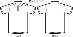 Nicubunu Polo Shirt Template Svg Med Image