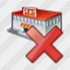 Icon Grocery Shop Delete Image