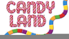 Free Candyland Board Game Clipart Image