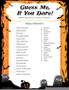 Printable Halloween Games Image