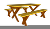 Clipart Of Picnic Table Image