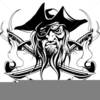 Cartoon Jolly Roger Clipart Image